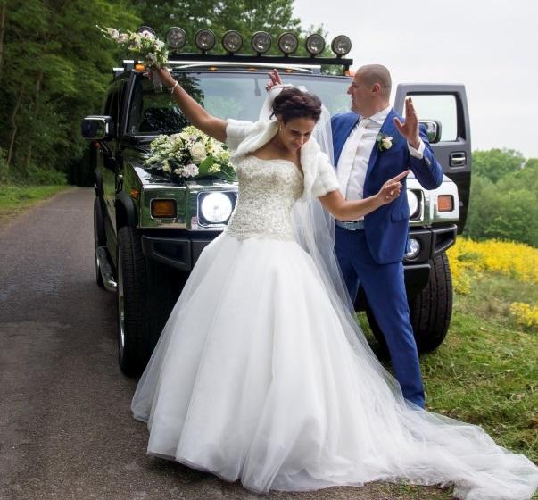Diane Legrand bruidsjurk